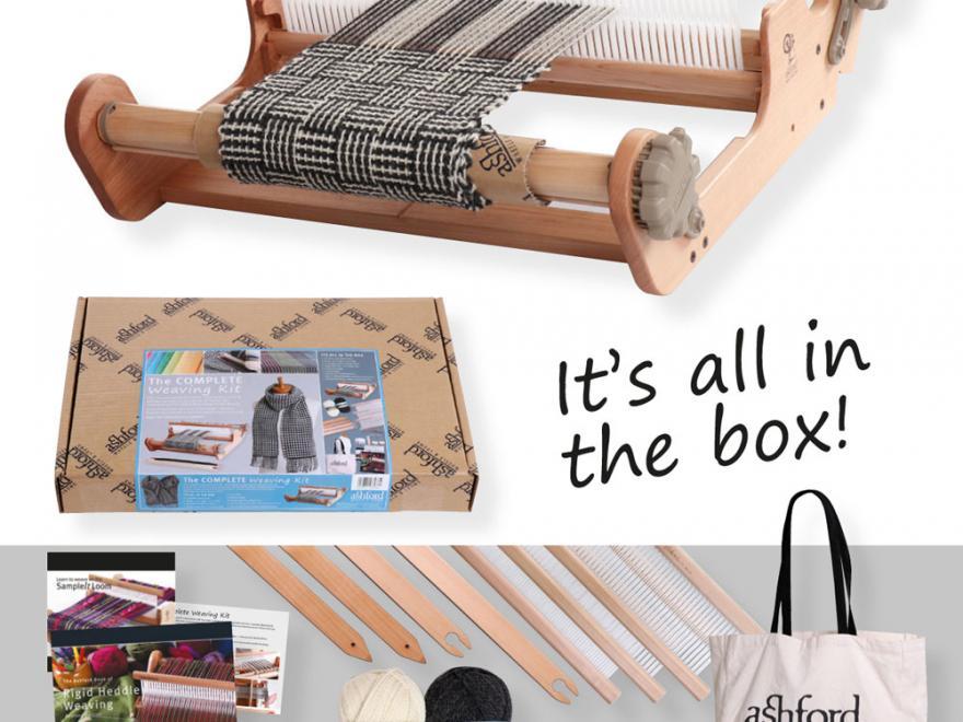 Ashford complete weaving kit