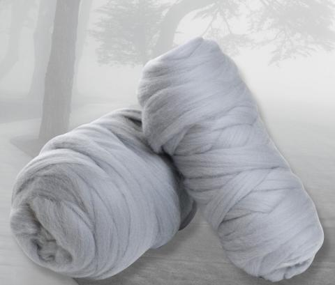 Fog - new in Corriedale and Merino slivers