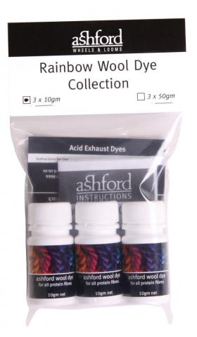 Rainbow Wool Dye Kit