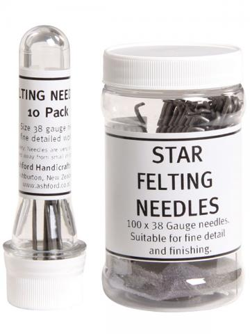 Star Felting Needles