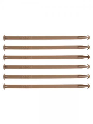 Warp stick ties