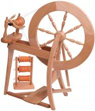 Traditional Spinning Wheel - Double Drive