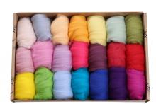 Fibre Sample Pack 4 - Merino Light