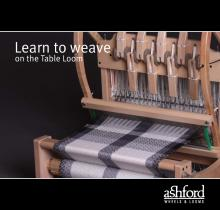 Learn to Weave on the Table Loom